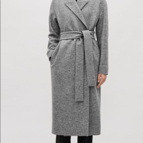 82906e701b86 COS Jackets & Coats | Belted Wool Coat | Poshmark